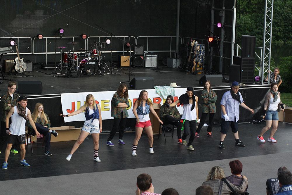 Jugendforum Sigmaringen Donau-Bühnen-Festival