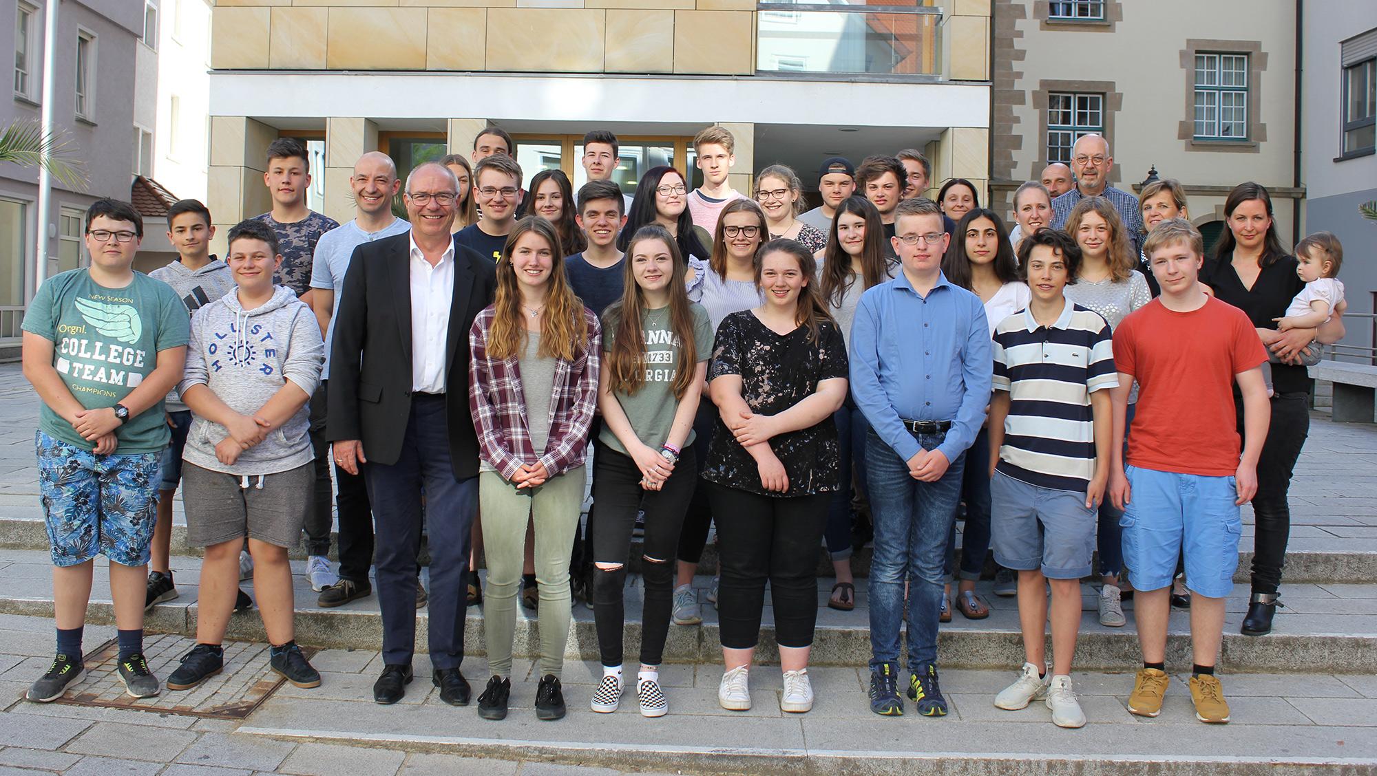 Jugendforum Sigmaringen Gruppenbild